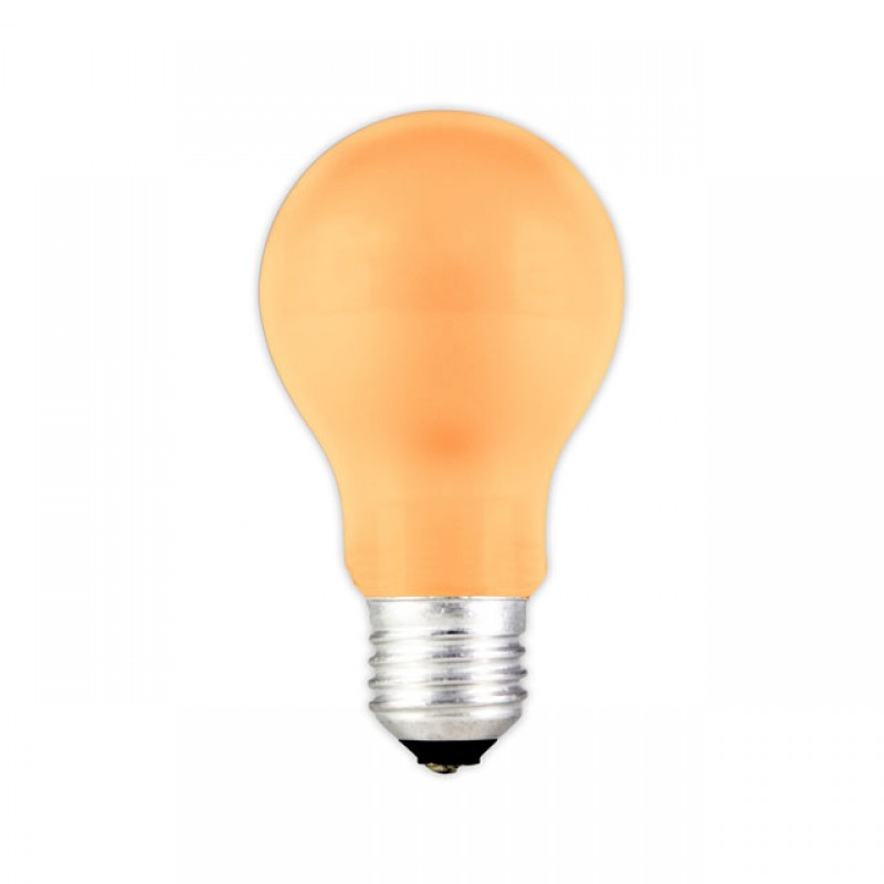 E27 led party gloeilamp 0 6w oranje for Gekleurde led lampen e27
