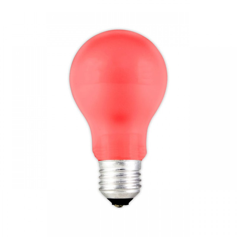 E27 LED Party gloeilamp 0,6W Rood