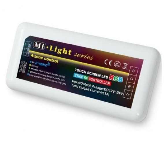 Mi Light 12-24V RGB touch controller max. 195W