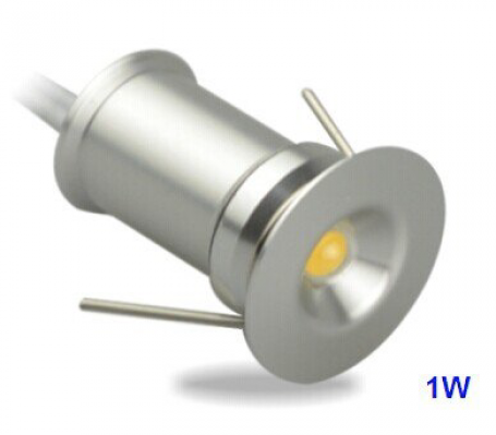 LED Inbouwspot Set micro 6st 1W warm wit dimbaar